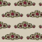 Red Rose Swirl