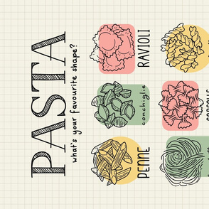 Pasta: What's Your Favourite Shape?