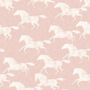 wild horses - silk pink - LAD19