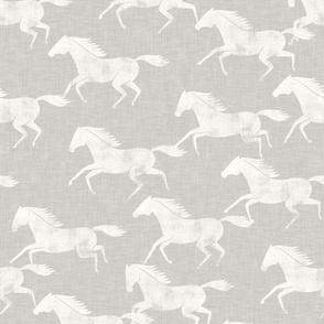 wild horses - stone  - LAD19