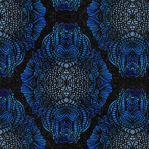 BOHO PATTERN  BLUE 16