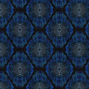 BOHO PATTERN  BLUE 8