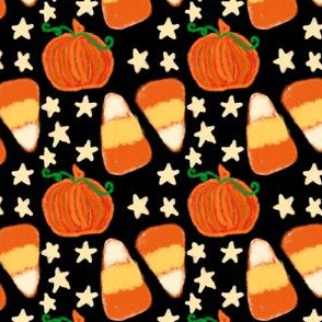 Project 418 | Fall Project 2019 | Candy Corn on Black