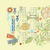 2020 Hawaiian Tea Towel Calendar