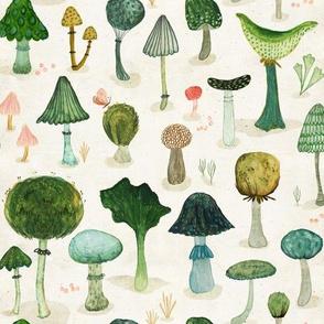 mushrooms {small}