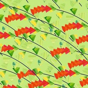Garlands (green)
