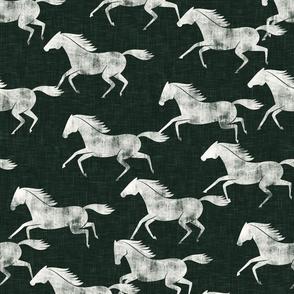 wild horses - evergreen - LAD19