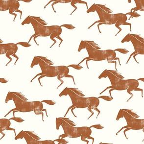 wild horses - ginger on cream - LAD19