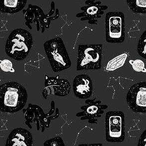 Witchy Galaxy Grey