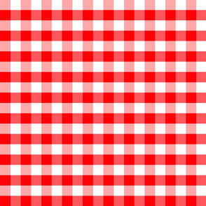 Plaids Red White