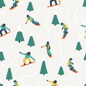 Snowboarding Men
