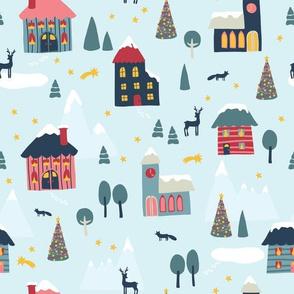 Winter Holiday Village