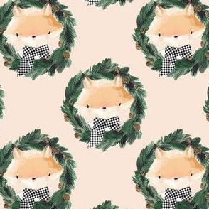"""4"""" Winter Boy Fox in Ivory"""