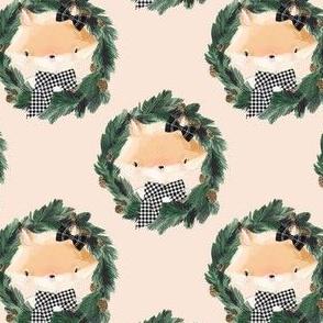 "4"" Winter Girl Fox in Ivory"