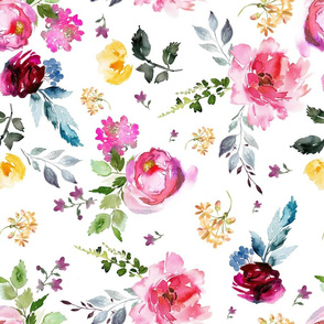 """18"""" Luna Florals"""