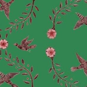 Christmas Birds 2019 Green