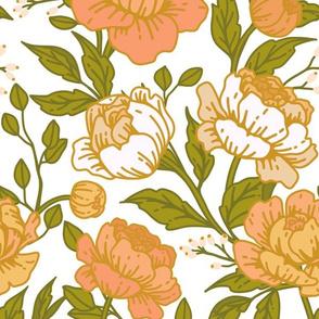 Chintz floral