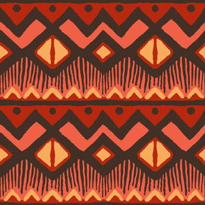 Tribal Geometry - Africa