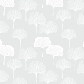 Ginkgo - Pale Gray