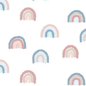 """3"""" Sprinkled Rainbows - Pastel"""