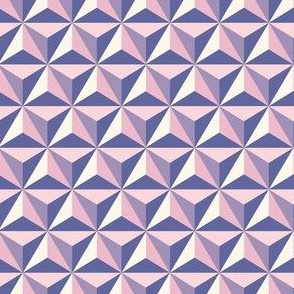 Pink Spaceship steel earth small