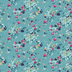 Modern Painterly Floral