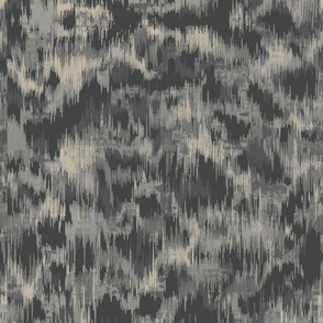 Charcoal Ikat Texture