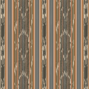 Warm Global Ikat Stripe