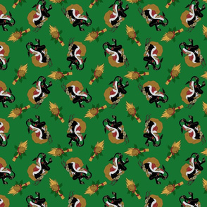 Merry Krampus Pattern