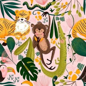 Jungle Life pattern1