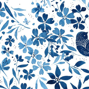 Song Bird Pattern - © Lucinda Wei