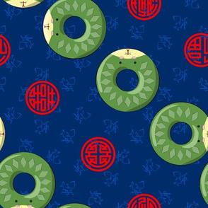Chinese Zodiac Donuts Snake