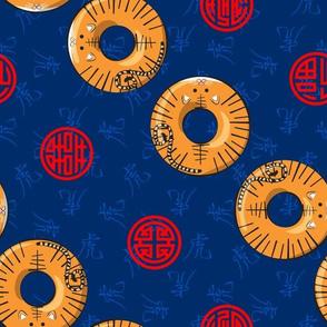 Chinese Zodiac Donuts Tiger