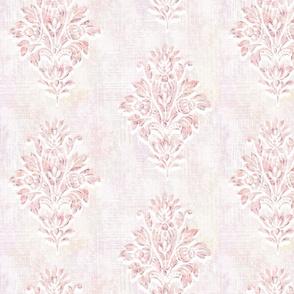 Blush Fleur de Lis