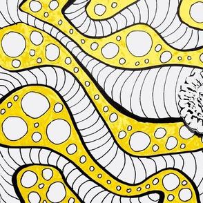 Tangle Yellow Flower