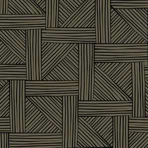 parquet brown and black