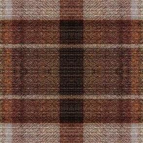 Brown Ribboned Plaid