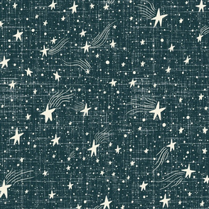 Starry Night - Navy