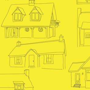 Yellow houses