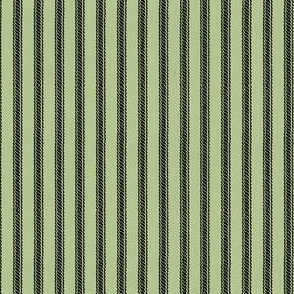 Ticking Stripes - Sea Foam Green