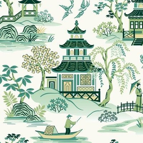 Chinoiserie Green