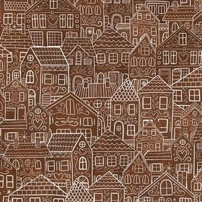 Gingerbread metropolis