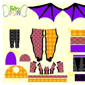 Bat Cat (11.5 inch doll set)