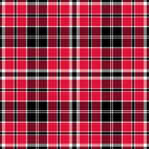 New Jersey Devils Plaid Team Color Hockey Red Black White