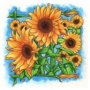 JuliaLPowell_Sunflowers
