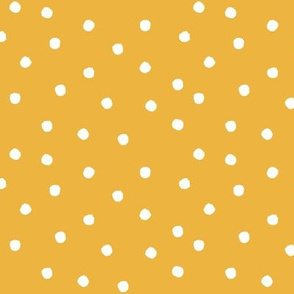 Polkas - sunshine - golden yellow - LAD19
