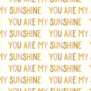 You are my sunshine - multi - LAD19