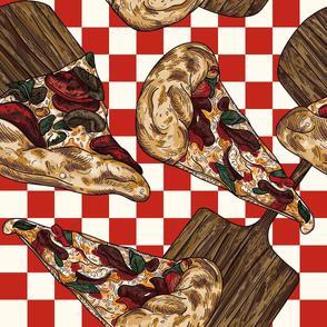 Retro Italian Pizza Parlour Party