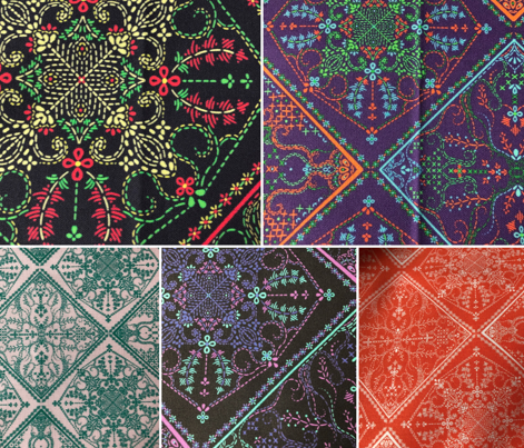Embroidery Tiles 3
