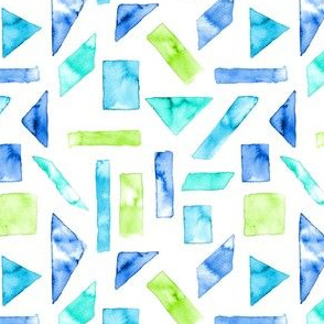 WATERCOLOUR SHAPES